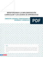 H6 Monitoreo de La Implementacion Curricular