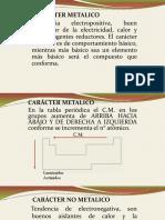 Caracter Metalico