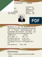 Clasificacion Mendeleiev