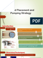 Fluid Placement and Pumping Strategy