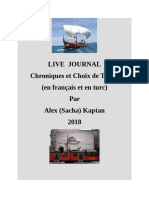 LIVE JOURNAL Alex (Sacha) Kaptan -2018