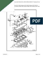 Cylinder Head & Cover (S-N 5260, 5261, 5258 & 5259) (V3300 DI T Kubota) (Tier II)_S250