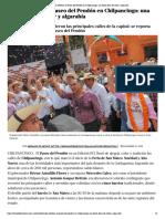 16-12-2018 Miles celebran el Paseo del Pendón en Chilpancingo; una fiesta llena de color y algarabía.