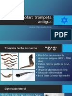 Estudio sobre el shofar