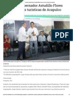 22-12-2018 Impulsa el gobernador Astudillo Flores obras en zonas turísticas de Acapulco.