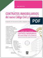 Contratos Inmobiliarios Del Nuevo Codigo Civil y Comercial
