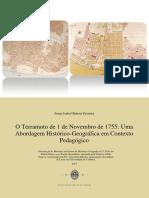 O Terramoto de 1 de Novembro 1755
