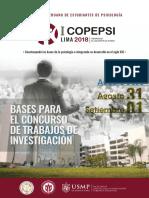 Bases para II congreso de psicologia