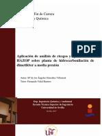 Aplicacion de Análisis de Riesgo y Operatibilidad HAZOP Sobre Planta de Hidrocarbonilación de Dimetileter a Media Presion-GONZALEZ