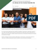 24-12-2018 Entrega Astudillo Obras en La Costa Grande de Guerrero.