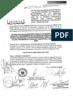Proyecto de Ley Que Declara de Necesidad Pública y de Interés Nacional La Ejecución y Mejoramiento de Los Servicios Turísticos Públicos en La Ruta Nor Este de La Reserva Paisajística Turística Nor Yauyos Cochas.