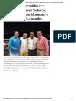 30-12-2018 Se reúne Astudillo con Miguel Alemán Velasco, Miguel Alemán Magnani y Antonio Hernández.