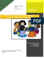 Proyecto Educativo de Habilidades Sociales