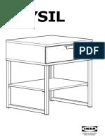 Ikea Trysil Manual
