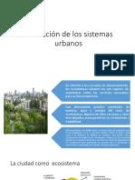 Evaluación  y conservacion de los sistemas urbanos.pptx