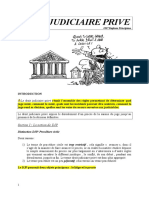 Droit Judiciaire Prive (1)