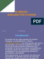 III) Análisis Por Flexión COMPLETO