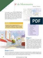 Quartier Montmartre Paysage Ville Paysage Ville