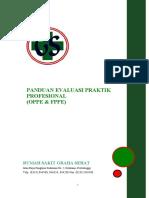 12231 - Panduan Evaluasi Praktik Profesional (OPPE & FPPE)