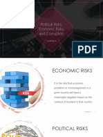 Political Risk, Economic Risk and Corruption in Int'l Management Chapter 6-3