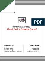 SOUTHWEST AIRLINES A ROUGH PATCH OR PERMANENT DESCENT.doc