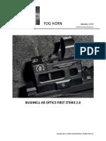 Bushnell's AR Optics First Strike 2.0