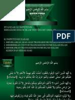 5. Hukum Islam Tentang Muamalah