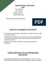 Presentacion Investigacion Educativa