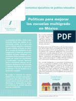 INEE-MX 2018 Doc política educativa 7-escuelas-multigrado
