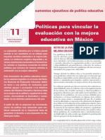 INEE-MX 2018 Doc ejecutivos de política educativa 11 Mejora Educativa