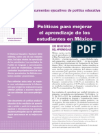 INEE-MX 2018 Doc política educativa 1-aprendizaje
