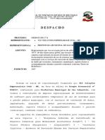 Ação Contra Pregão Da Prefeitura