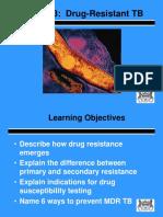 3.0 Drug Resistance