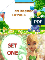 Classroom Language ( Pupils ) 2