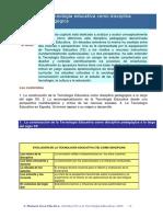 2 La Tecnología Educativa Como Disciplina Pedagógica (1)