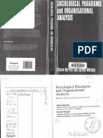 Sociological paradigms and organizational analysis
