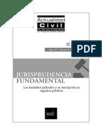 JURISPRUDENCIA FUNDAMENTAL Los Mandatos Judiciales y Su Inscripcion en Registros Publicos