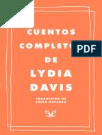 Lydia Davis - Cuentos Completos