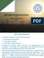 4. Deaerator papging