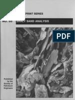 Shaly Sand Analysis Spe Book
