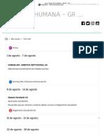 Curso_ Gestión Humana - Grupo 261