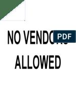 NO VENDORS ALLOWED.docx