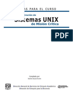 Administracion de Sistemas Unix