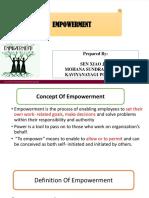 Empowerment Ppt