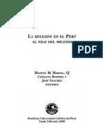 Manuel Marzal_ Catalina Romero_ José Sánchez - La Religión en El Perú Al Filo Del Milenio-PUCP (2000)