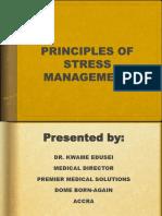Principles of Stress Management