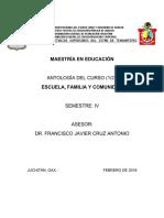 Antología Escfamcom Febrero 2018