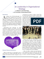 Compassionate Leadership in Organisational Strategy
