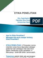 ETIKA PENELITIAN (1)