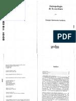 Cardona, Giorgio R. - Antropología de La Escritura